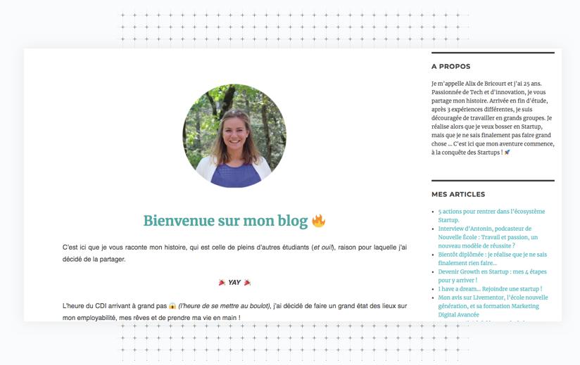 Blog alix de b